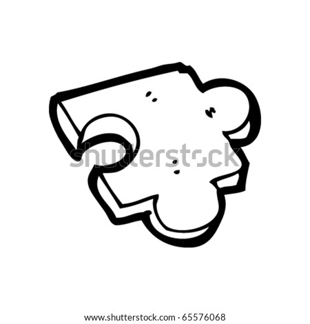 jigsaw puzzle piece cartoon