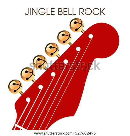 Jingle bell rock musical holiday artwork