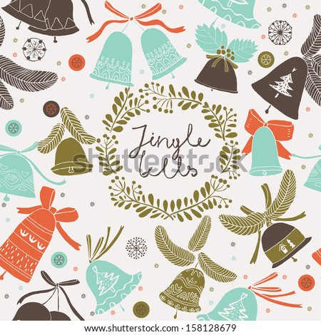 Jingle Bells - stock vector