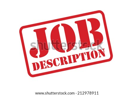 "Job Description"" Stock Photos, Royalty-Free Images & Vectors"