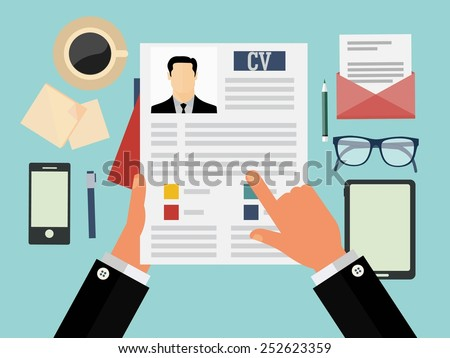 resume and interview