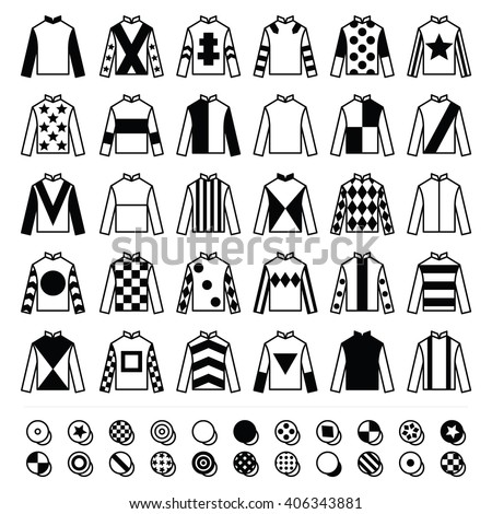 jockey silks template - uniform stock vectors vector clip art shutterstock