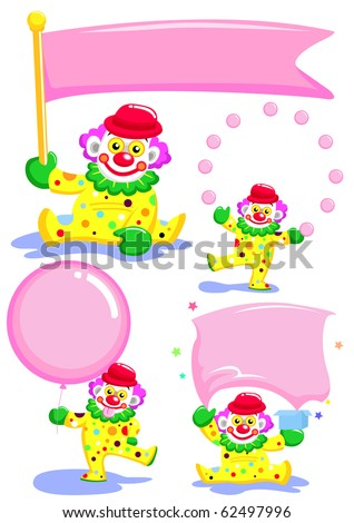 joker paper it use for write message - stock vector