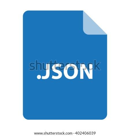 json file format vector