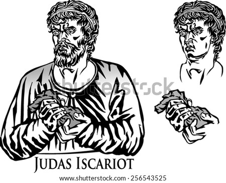 Judas Iscariot. The Apostle who betrayed his Divine Master.