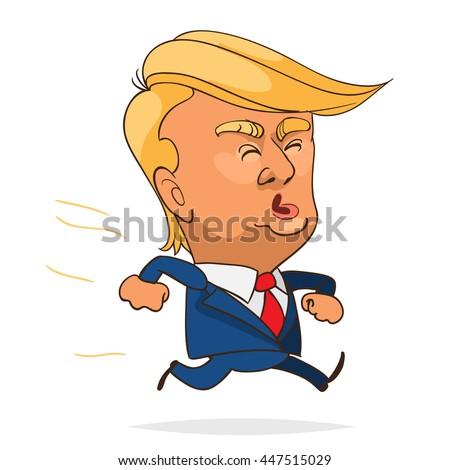 Image result for cartoon of donald trump's hair
