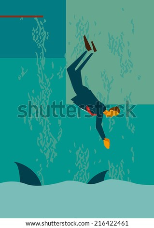 Jump, the file format of EPS10,.0 fully editable. - stock vector