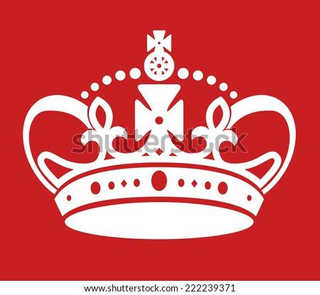 Keep Calm Poster Similar Crown Imitation Stockvector 222239371