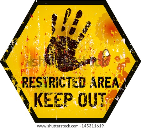 Keep Out Sign Stock Photos, Images, & Pictures | Shutterstock Keep Calm Crown Vector