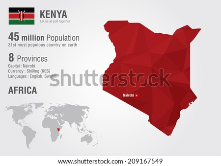 Kenya map stock images royalty free images vectors shutterstock kenya world map with a pixel diamond texture world geography gumiabroncs Choice Image