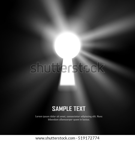 Key hole on black wall light 519172774 shutterstock mozeypictures Gallery