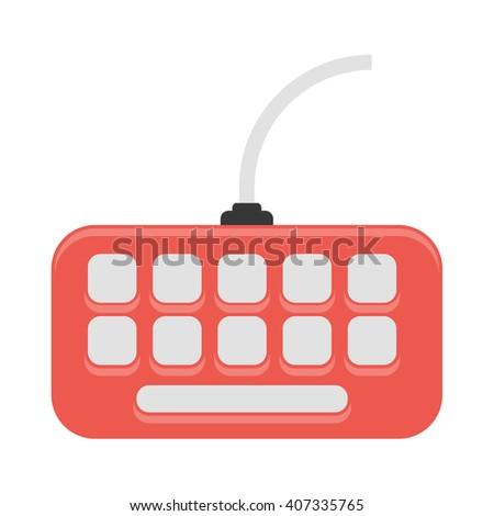 Keyboard icon. Keyboard icon vector. Keyboard icon simple. Keyboard icon app. Keyboard icon web. Keyboard icon logo. Keyboard icon sign. Keyboard icon ui. Keyboard icon flat. Keyboard icon eps. - stock vector