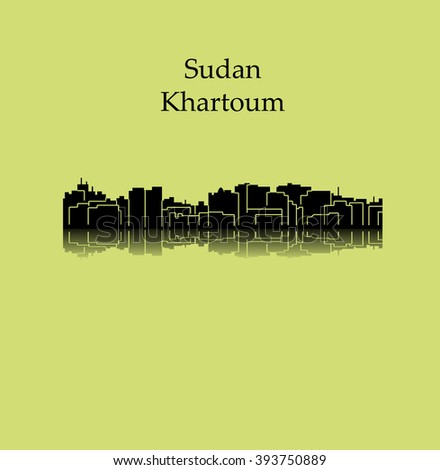 Khartoum, Sudan - stock vector