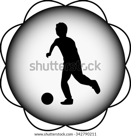 kid play soccer