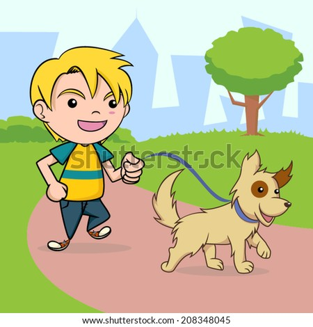Dog Leash Cartoons Stock Images, Royalty-Free Images ...