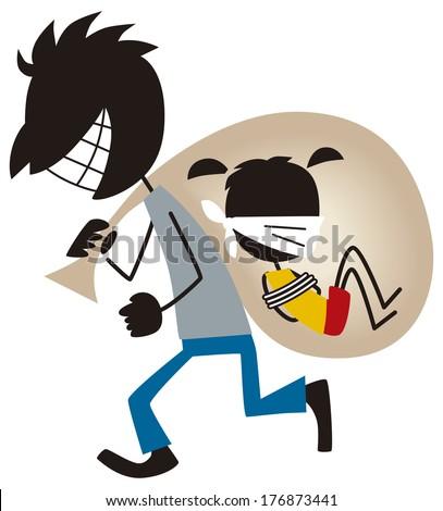 Kidnapping Stock Vectors, Images & Vector Art | Shutterstock