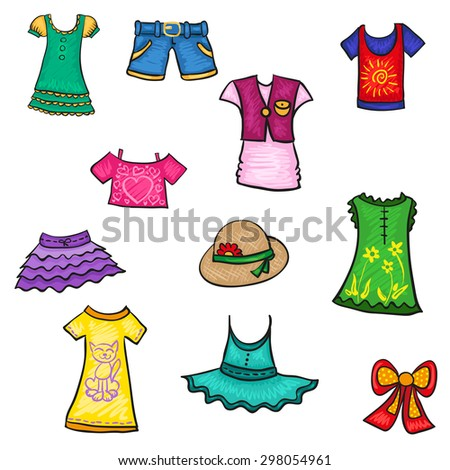 Kids Summer Clothes Girl Set Or Pattern