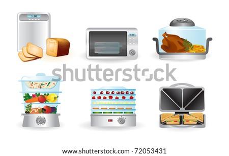 Kitchen appliance - stock vector