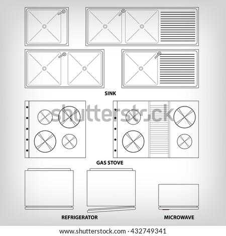 Stove Top Stock Vectors & Vector Clip Art   Shutterstock