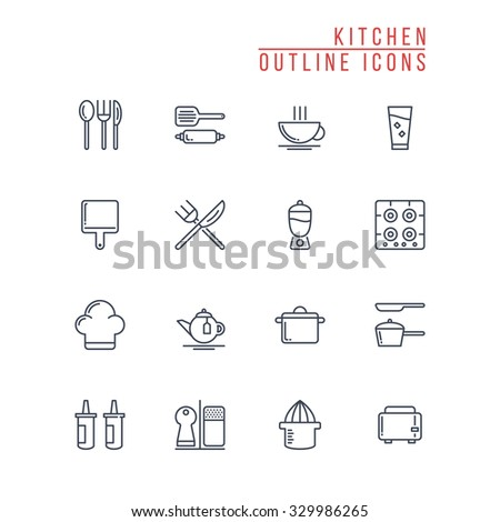 Food Colored Vector Icons 1 Stock Vector 368531162 ...
