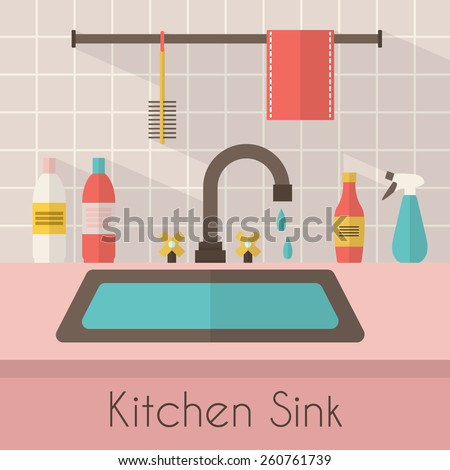 kitchen sink stock images, royalty-free images & vectors
