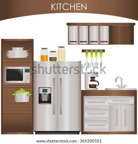 Kitchen supplies design