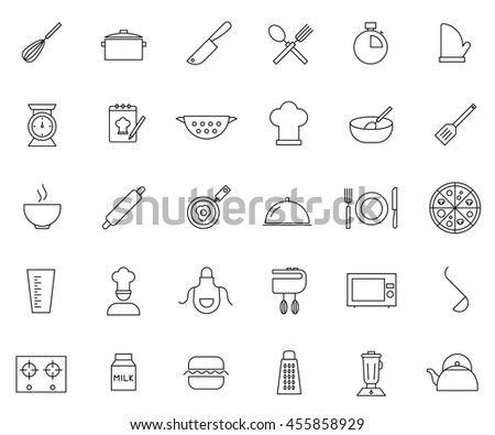 Stock photos royalty free images vectors shutterstock - Utensilios de chef ...