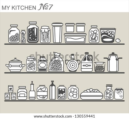 Pantry Stock Photos, Royalty-Free Images & Vectors ...