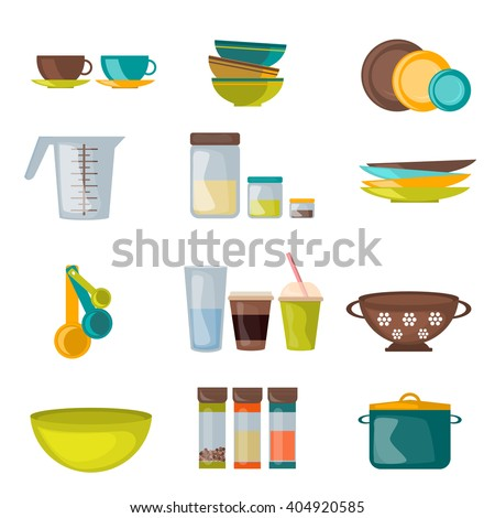 Restaurant Kitchenware utensils vector stock images, royalty-free images & vectors