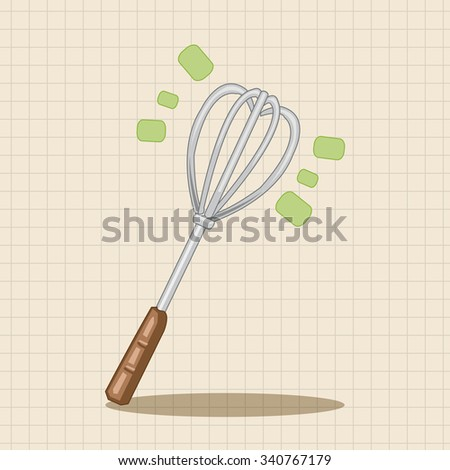kitchenware spatula theme elements vector,eps