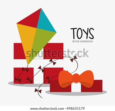 Kite toy and game design