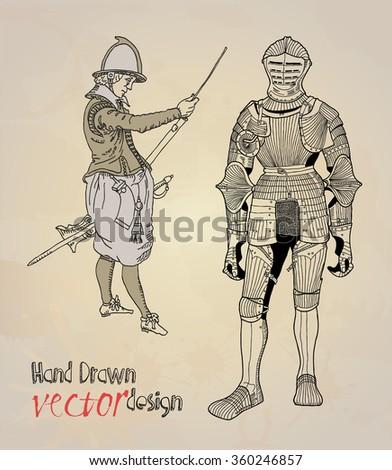 knight guard stock vector 360246857 shutterstock