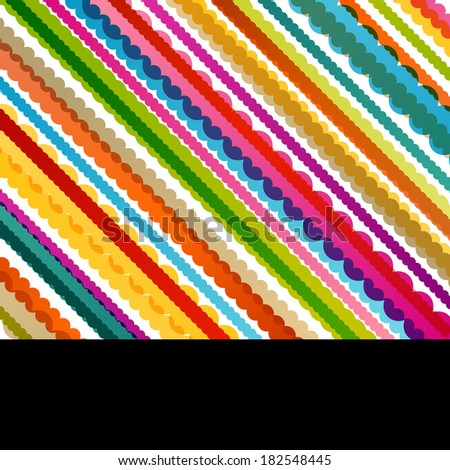 Knitted wool texture knitting abstract background illustration vector - stock vector