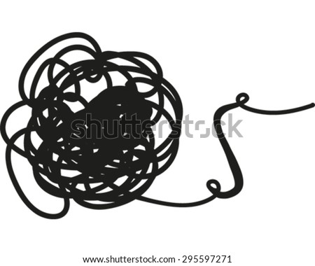 Knot - stock vector
