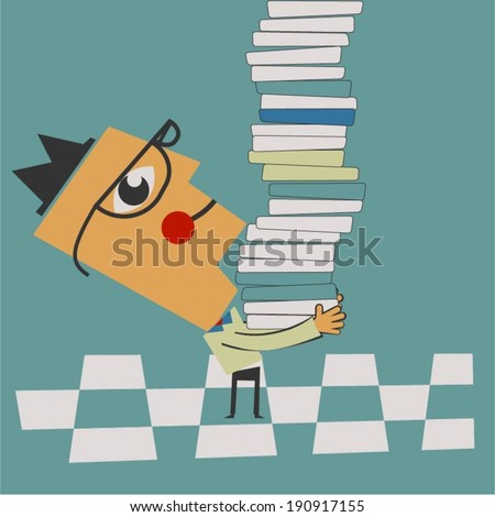 Knowledge concept - stock vector