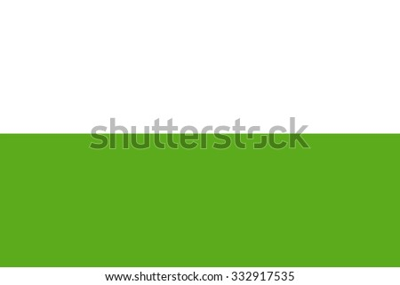 La Guajira vector flag, Colombia. Flag of Colombian Department La Guajira.  - stock vector