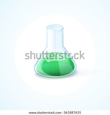 lab analysis - stock vector