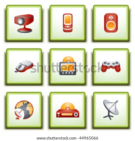 Label for web 21 - stock vector