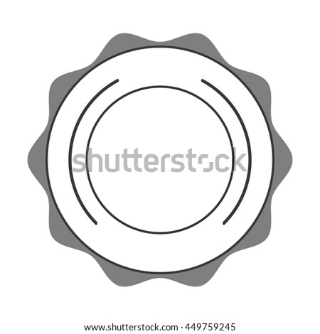 Label stamp tag seal Isolated vector illustration - stock vector
