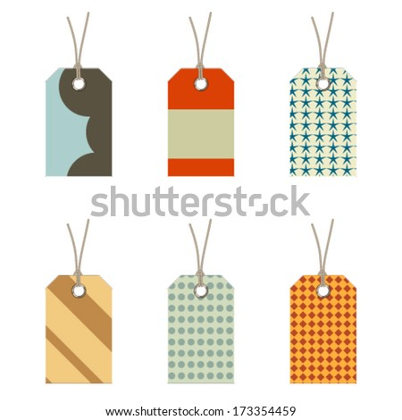labels set - stock vector