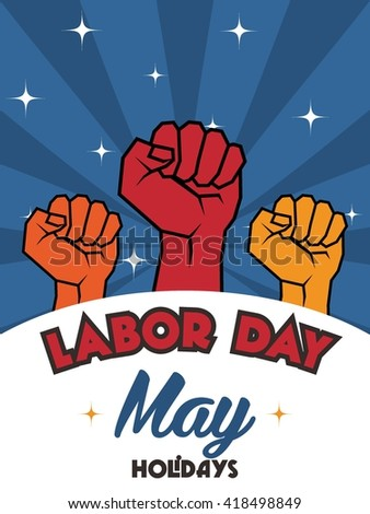 Labor Day Logo Template