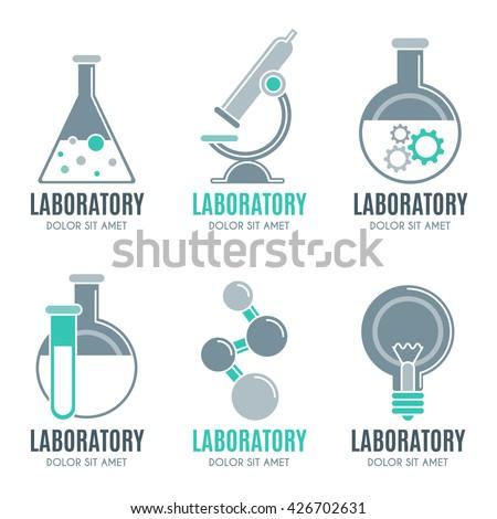 laboratory for pharmacy background usage clean modern white laboratory ... Medical Laboratory Logo Design