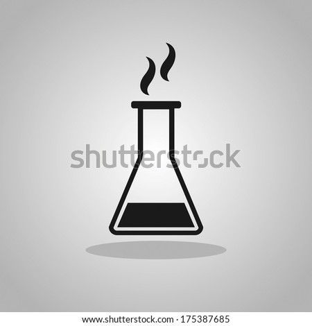 laboratory equipment - stock vector
