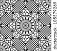 Lace seamless pattern. EPS 8 vector illustration - stock photo