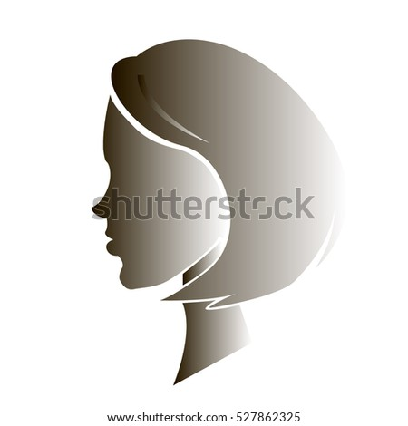 lady in profile