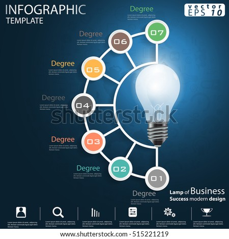 Infographic Template Stock Images Royalty Free Images