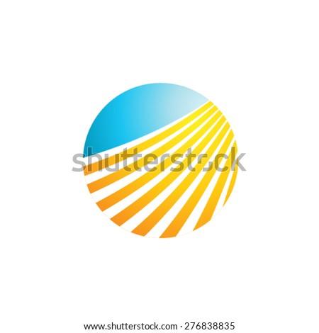 Landscape Logo Concept - stock vector