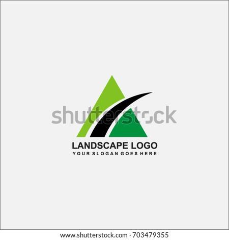 Mountain Logo Ideas Design Vector Illustration Stock Vector ...