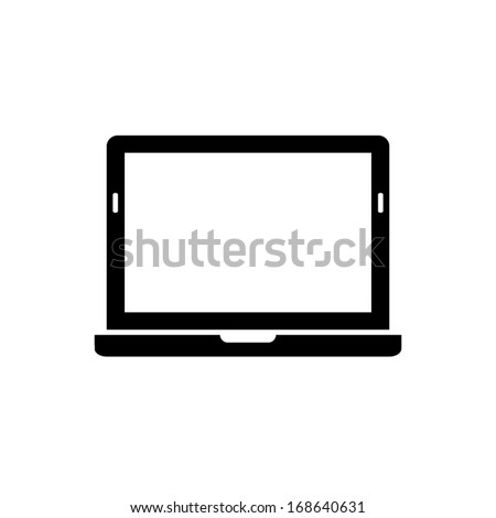 Laptop Icon icon - stock vector