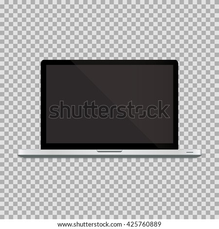 Laptop realistic Vector, Laptop Icon Object, Laptop Icon Image, Laptop Icon Picture, Laptop Icon Graphic, Laptop Icon Art, Laptop Icon Drawing, Laptop Icon JPG, Laptop Icon JPEG, Laptop Icon EPS - stock vector